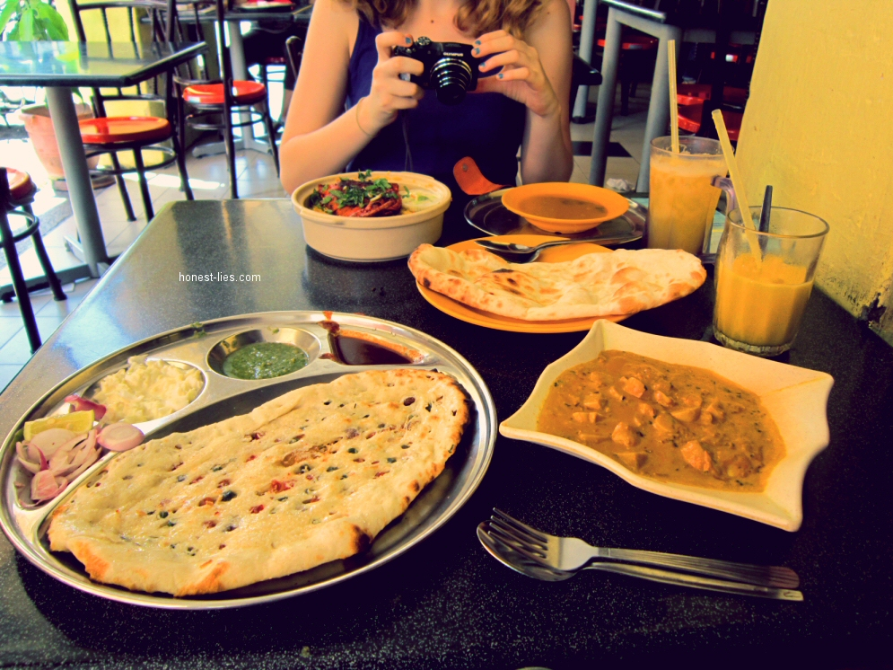 Delicious Indian Food in Little India