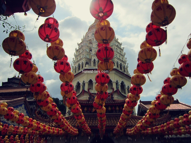 Lanterns at Kek Lok Si Temple