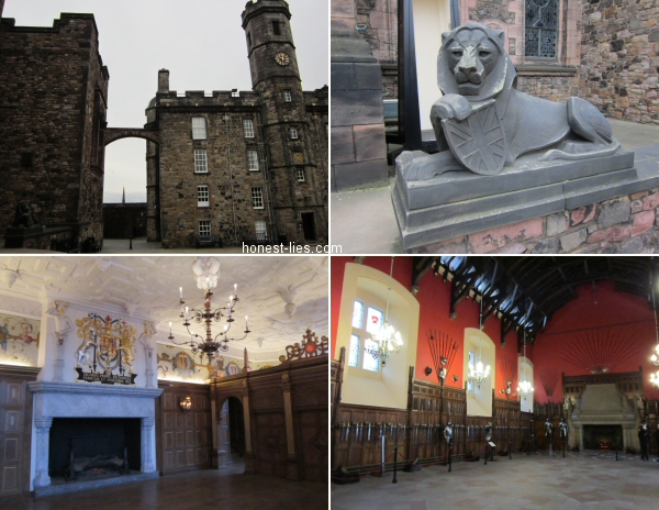 Misc pics of inside of Edinburgh Castle