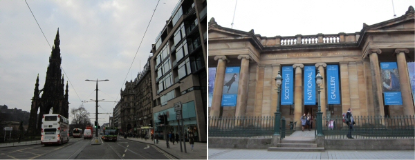 Princes Street and National Gallery
