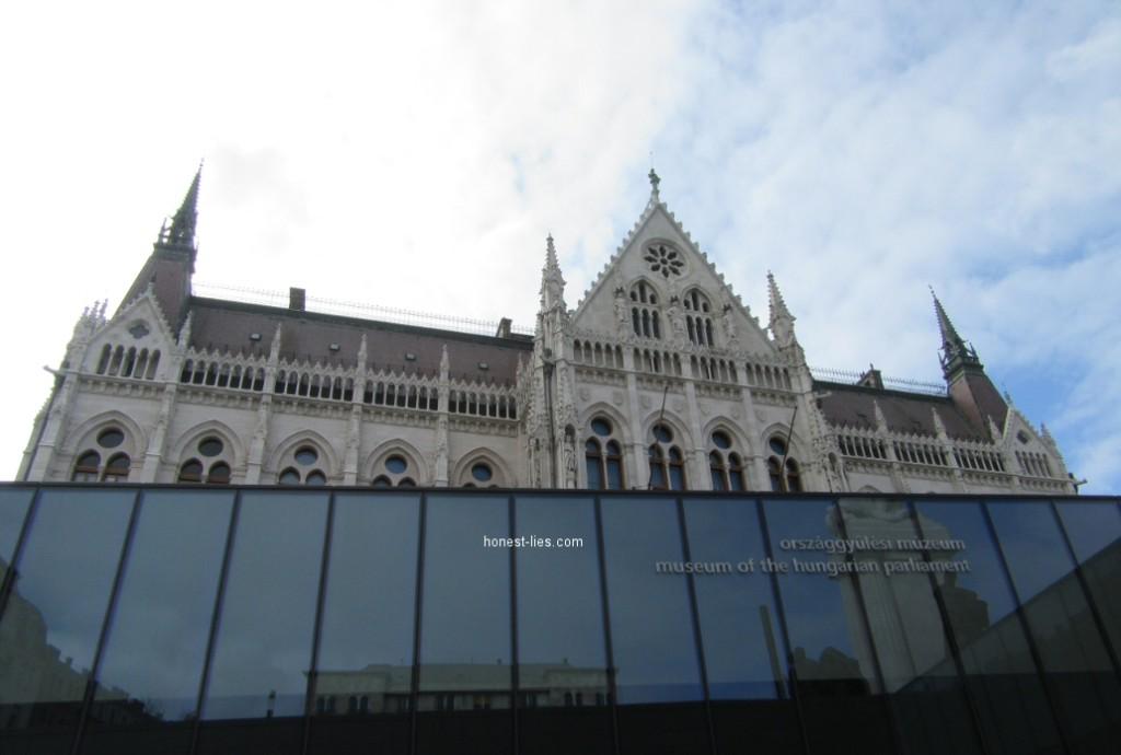 Tourist center at Hungarian Parliament Building